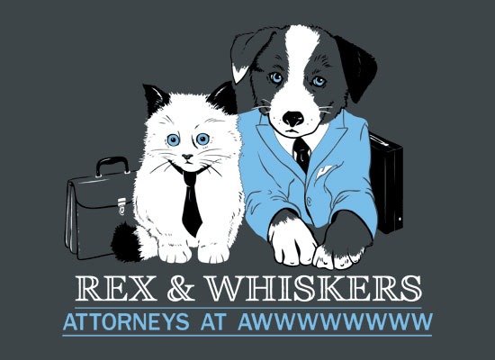 Rex & Whiskers t-shirt