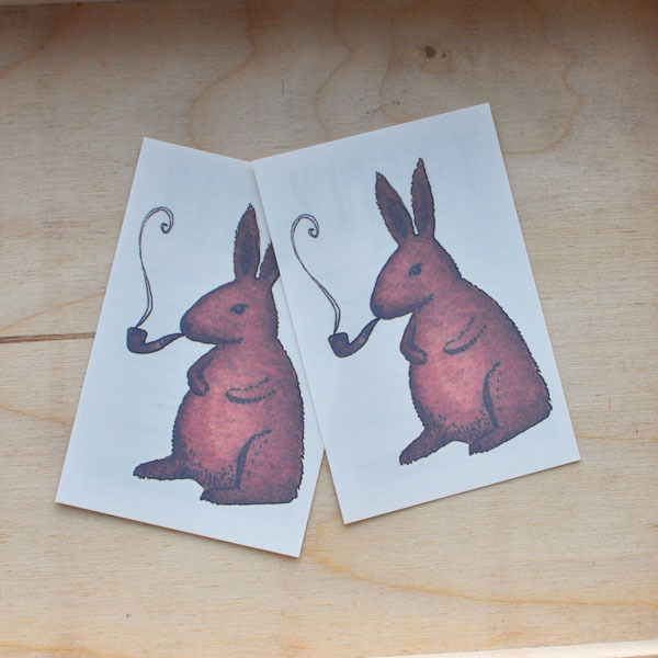 Tattly Bunny Tattoos
