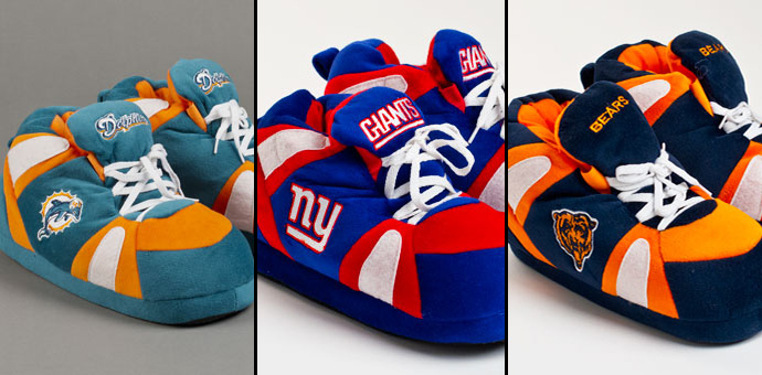 NFL Football Slippers
