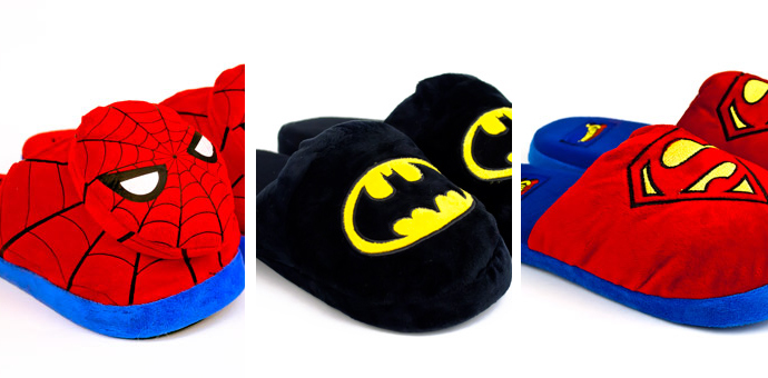 Superhero Slippers
