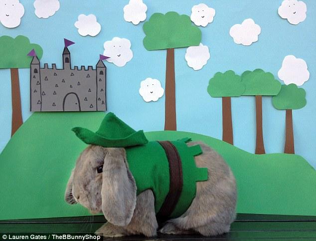 Robin Hood Bunny