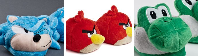 Video Game Slippers