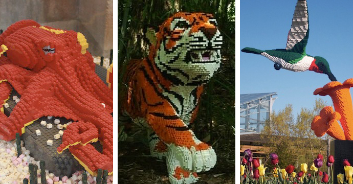 Amazing Lego Sculptures