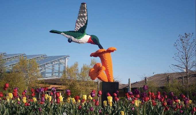 Lego Sculpture Bird