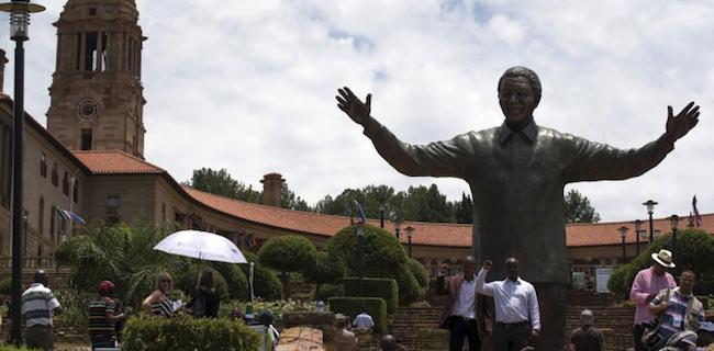 Mandela Statue Rabbit