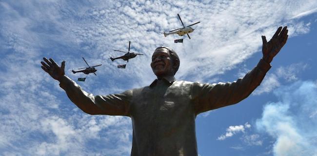 Mandela Statue South Africa