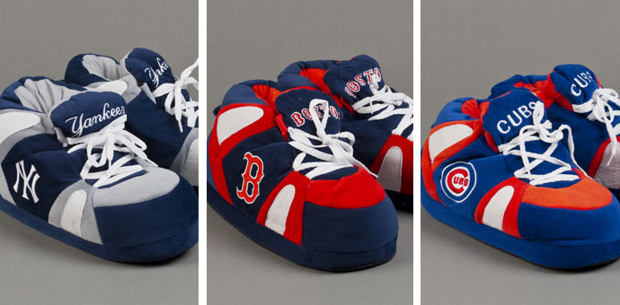 Baseball Slippers
