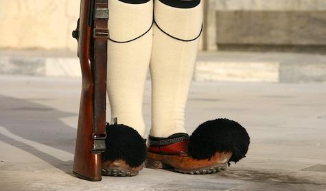 Tsarouhi Slippers