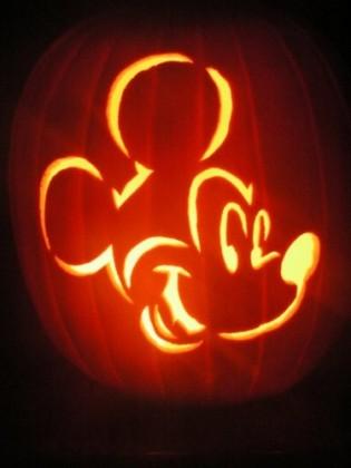mickey-pumpkin