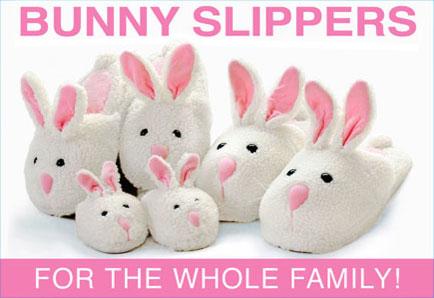 Clic Bunny Slippers