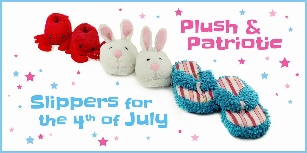 July 4th Slippers