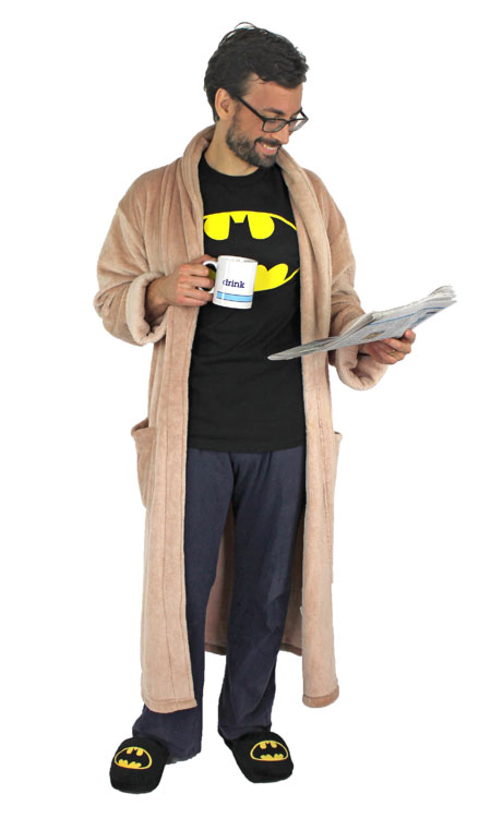 Batmans Day Off Costume  sc 1 st  Bunny Slippers & Halloween Costume Guide