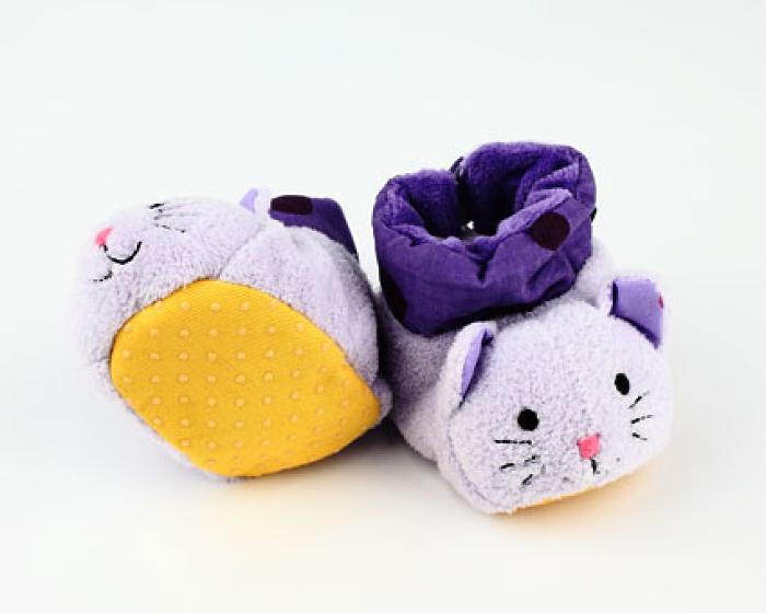 Cat Baby Booties 3