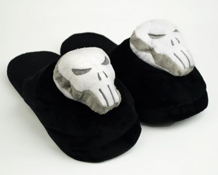 Punisher Skull Slippers 1