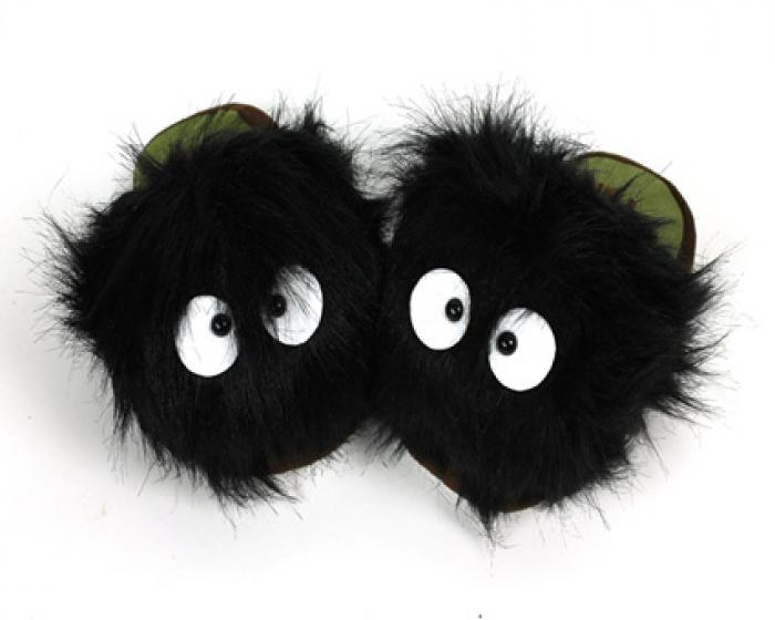 Soot Sprite Slippers 1