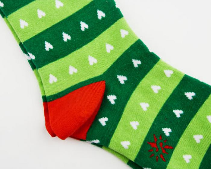 Reindeer Sweater Socks 2