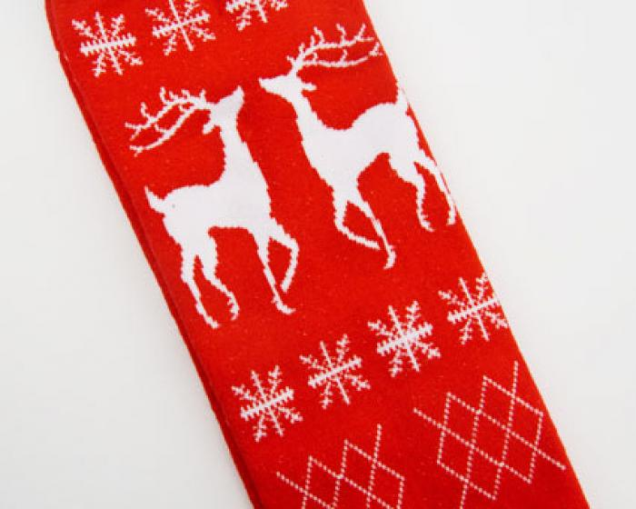 Reindeer Sweater Socks 3