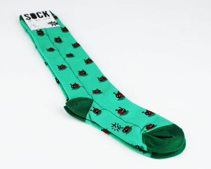 Ladybug Socks 1