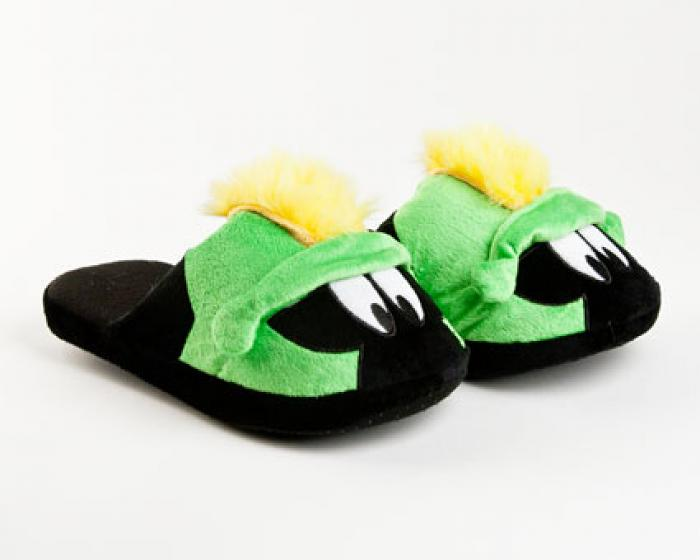 Marvin the Martian Character Slippers 1