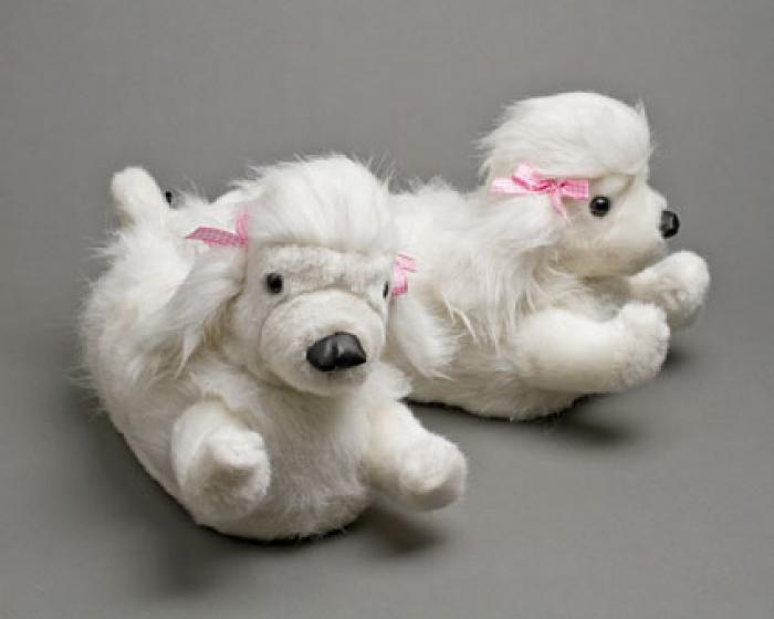Poodle Slippers 1