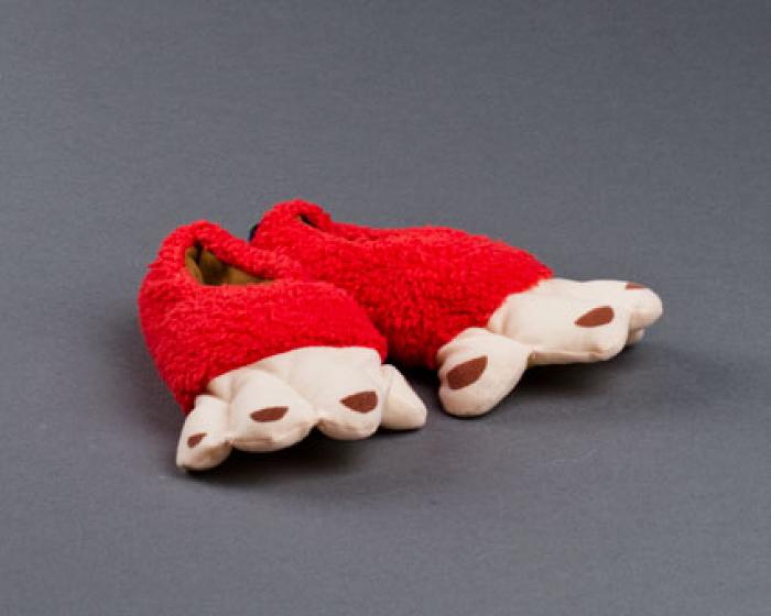 Toddler's Monkey Feet Slippers 1