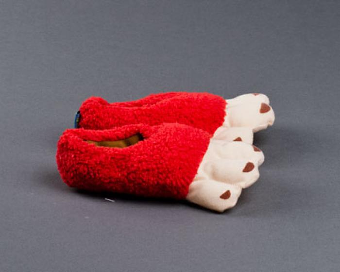 Toddler's Monkey Feet Slippers 2