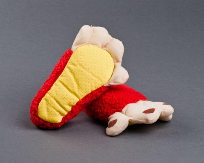 Toddler's Monkey Feet Slippers 3