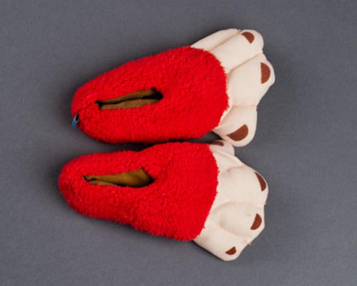 Toddler's Monkey Feet Slippers 4