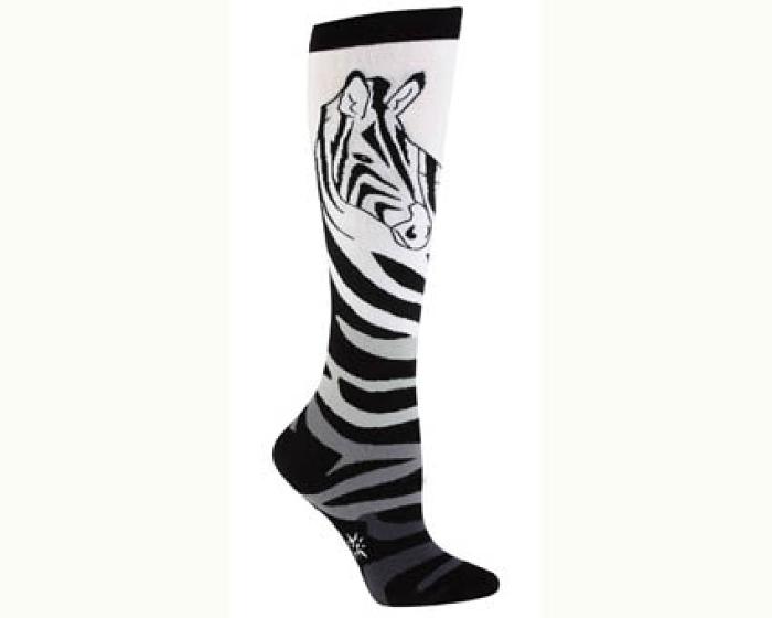 Zebra Socks 1