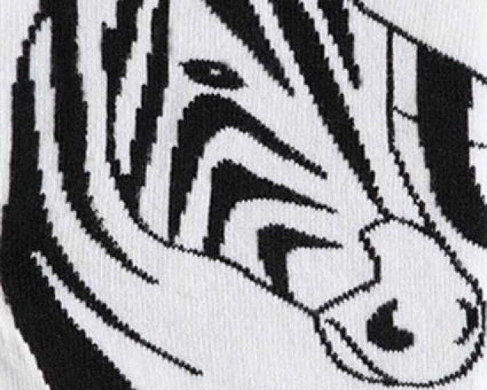 Zebra Socks 2