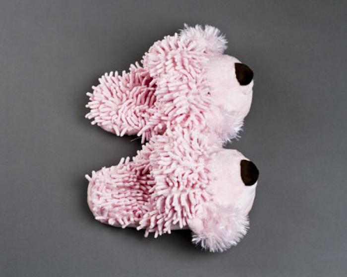 Fuzzy Poodle Slippers 4
