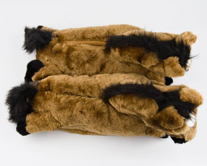 Brown Horse Slippers 4