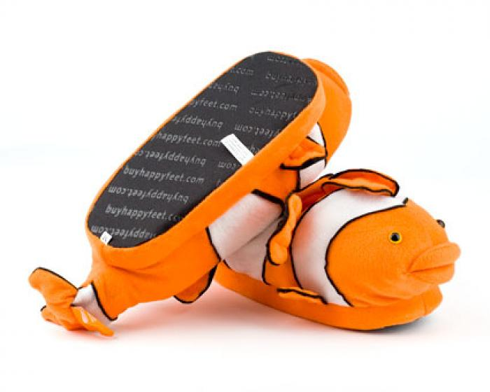 Clownfish Slippers 3