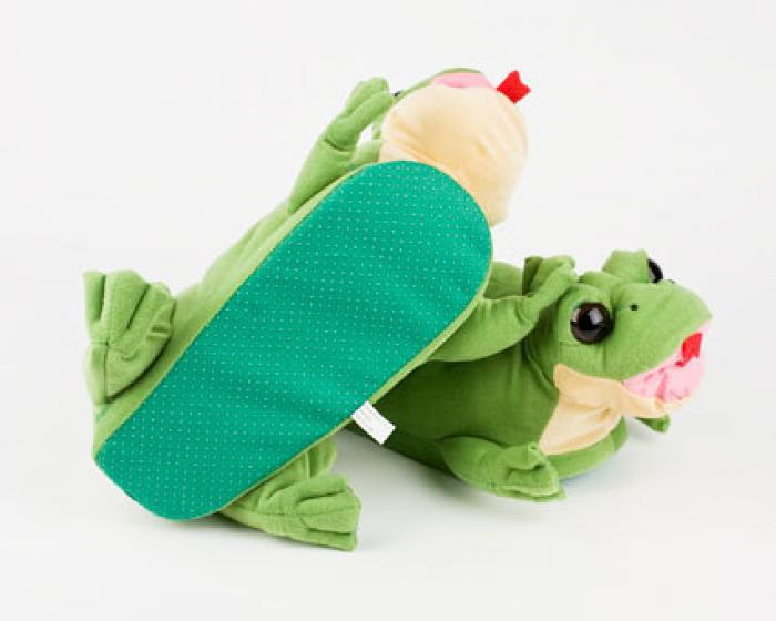 Tongue Frog Slippers 3
