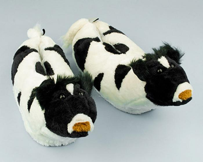 Cow Slippers 1