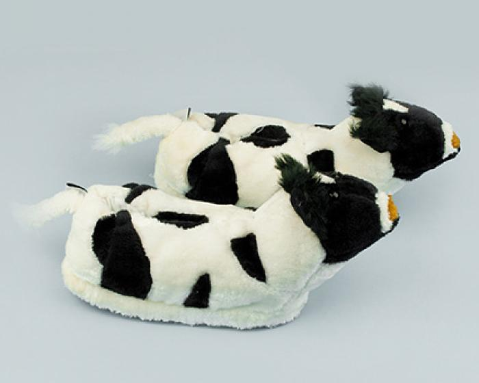 Cow Slippers 2