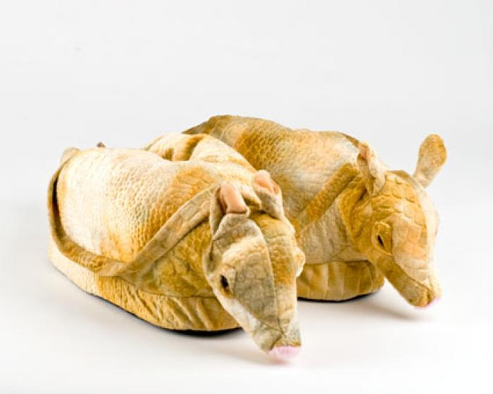 Armadillo Animal Slippers 1
