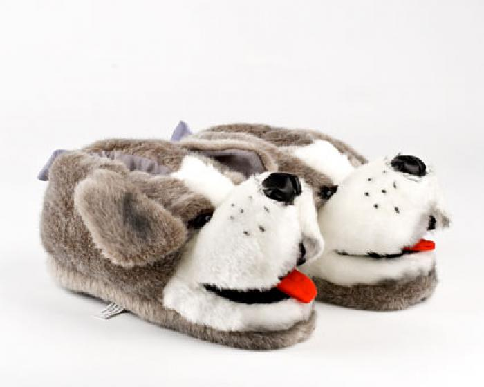 Sheep Dog Animal Slippers 1