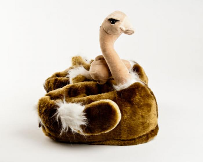 Ostrich Bird Animal Slippers 2