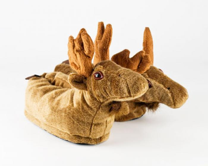 Moose Slippers 1