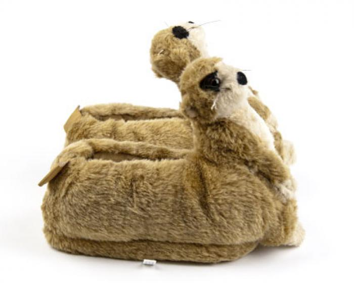 Meerkat Animal Slippers 2