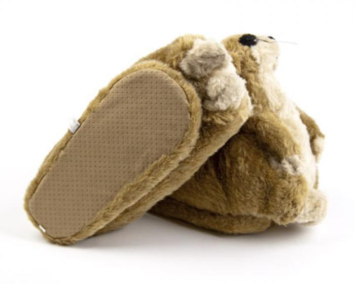 Meerkat Animal Slippers 3