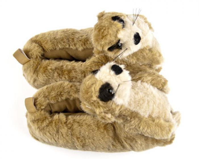Meerkat Animal Slippers 4