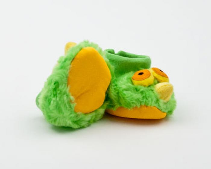 Green Bird Boogie Booties 3