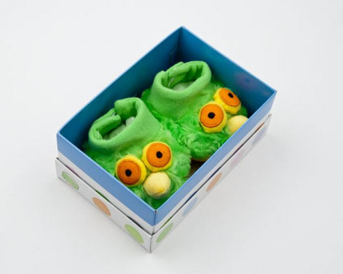 Green Bird Boogie Booties 4