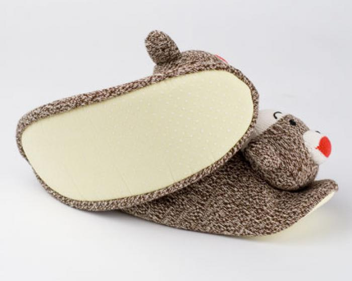 Children's Sock Monkey Slippers 3