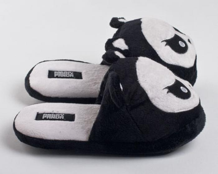 Angry Panda Slippers 2