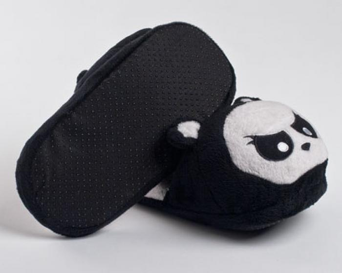 Angry Panda Slippers 3