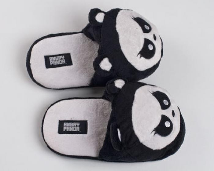Angry Panda Slippers 4