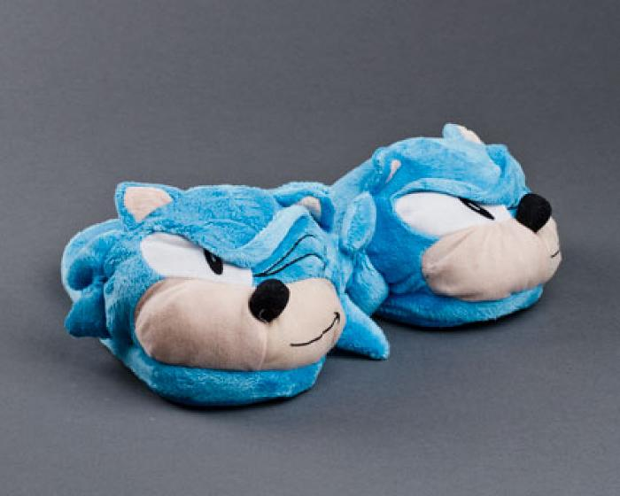 Sonic The Hedgehog Slippers 1